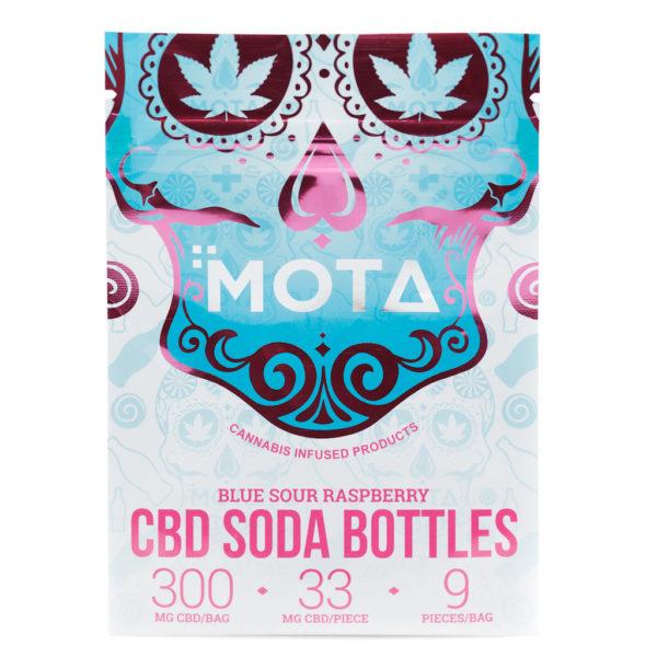 MOTA – BLUE RASPBERRY SODA BOTTLES | 300MG CBD